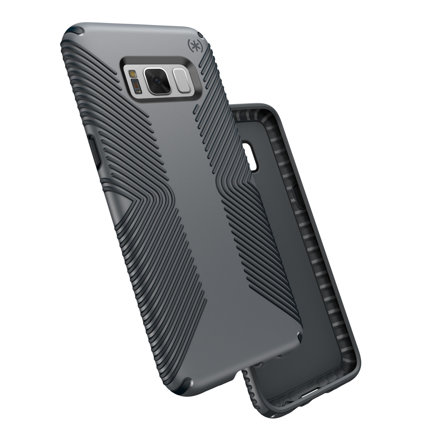 Search and compare best prices of Speck Presidio Grip Samsung Galaxy S8 Plus Cases Graphite Grey/Charcoal Grey in UK