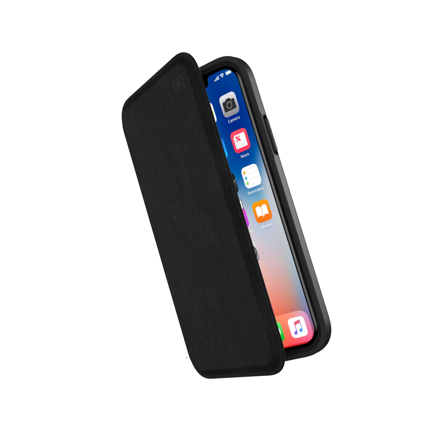 Compare retail prices of Presidio Folio Leather iPhone X Cases Black/Black to get the best deal online