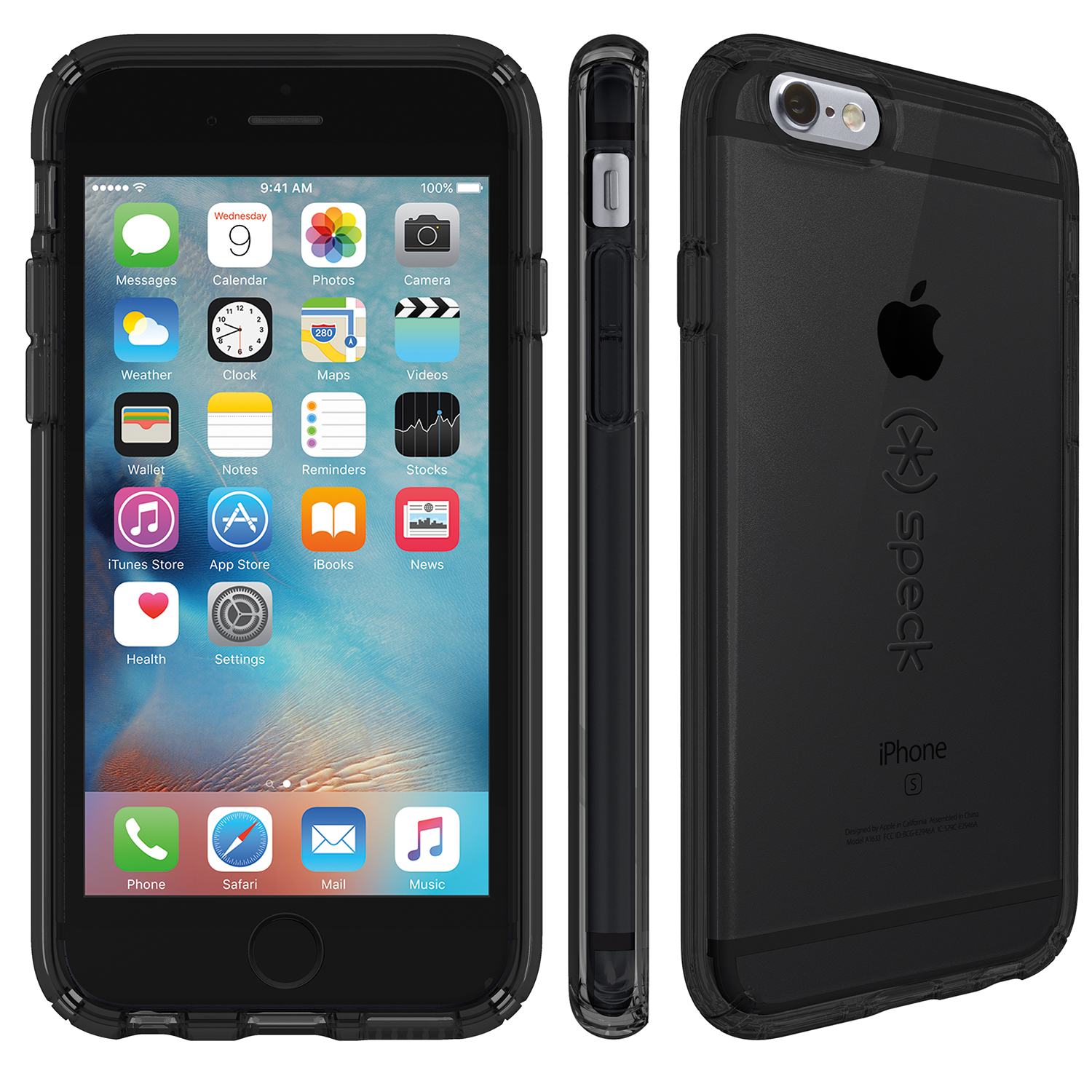 Compare prices for Speck CandyShell Clear iPhone 6s Plus and iPhone 6 Plus Cases Onyx Black