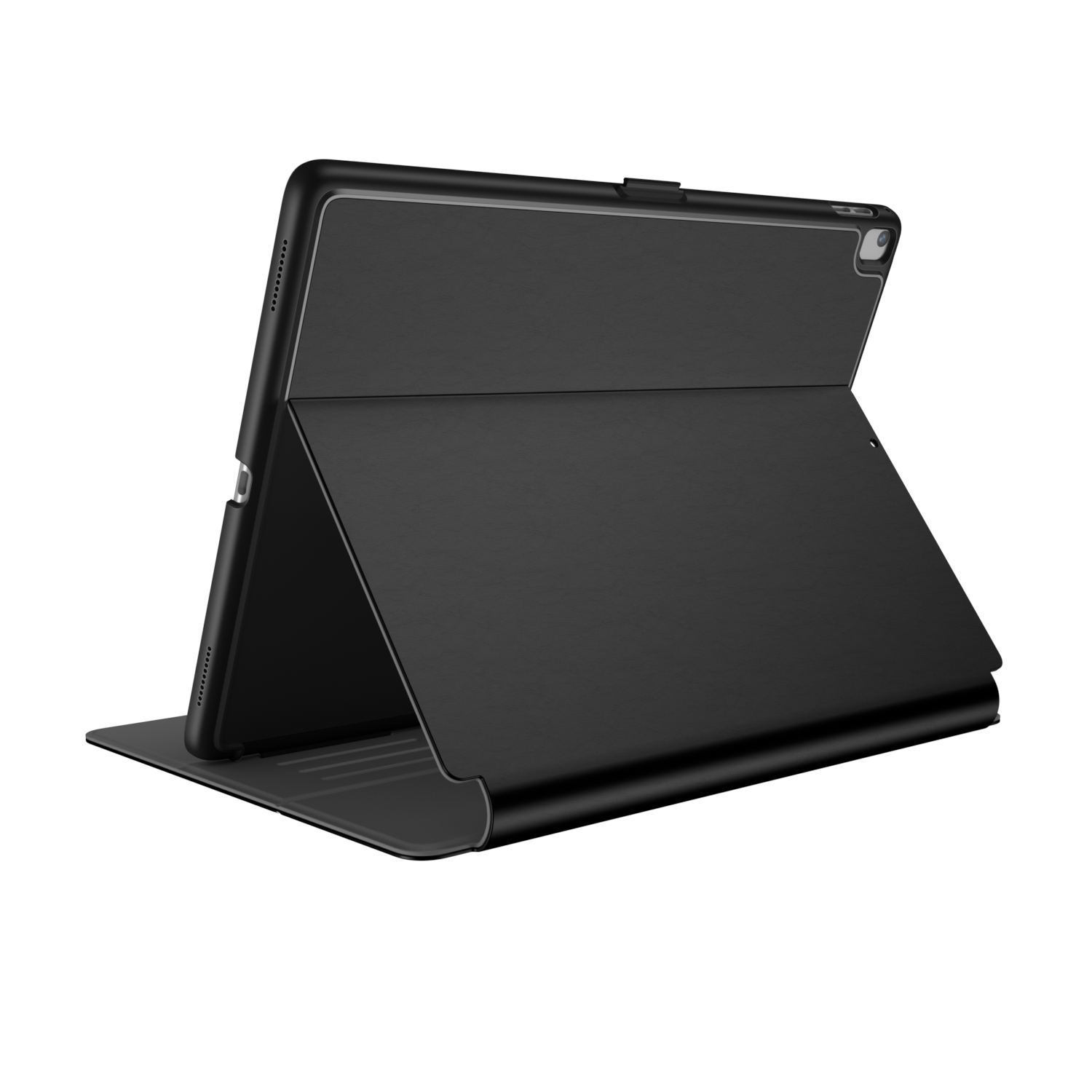Compare retail prices of Speck Balance FOLIO 12.9 inch iPad Pro Cases Black/Slate Grey to get the best deal online