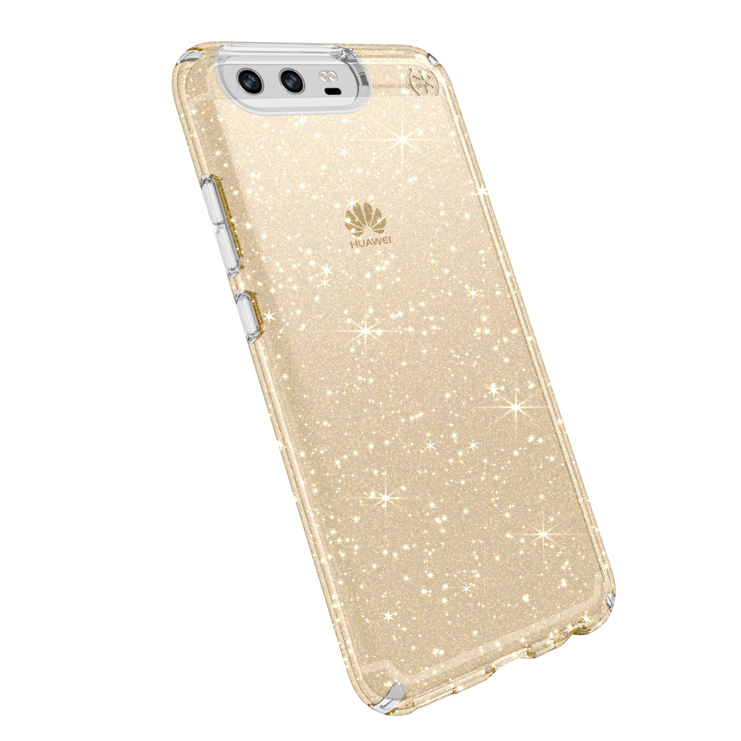 Search and compare best prices of Speck Presidio Clear with Glitter Huawei P10 Plus Cases Clear/Gold Glitter in UK