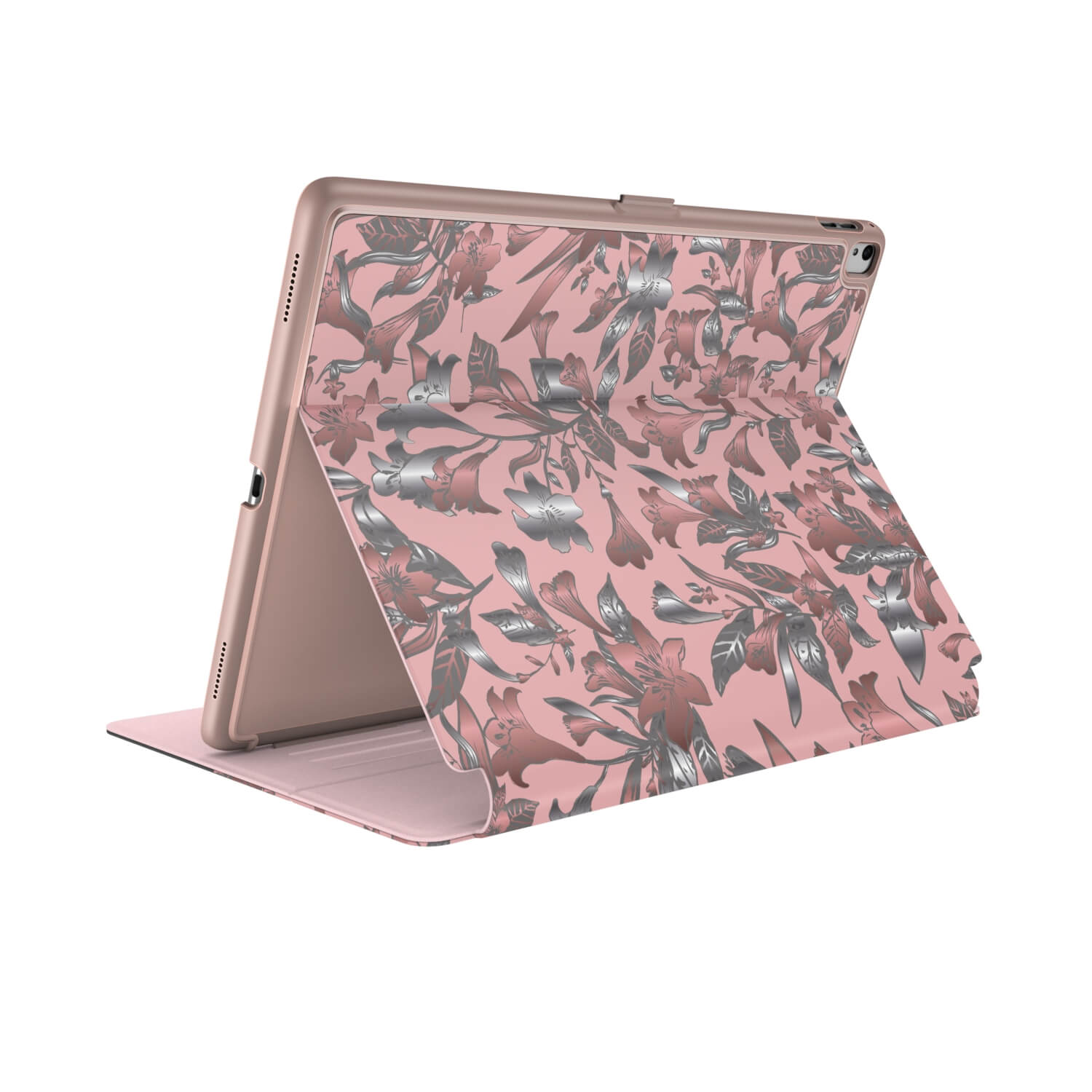 Compare prices for Speck Balance FOLIO PRINT 10.5 inch iPad Pro Cases LillyModern Rose Gold/Crepe Pink/Cathedral Grey