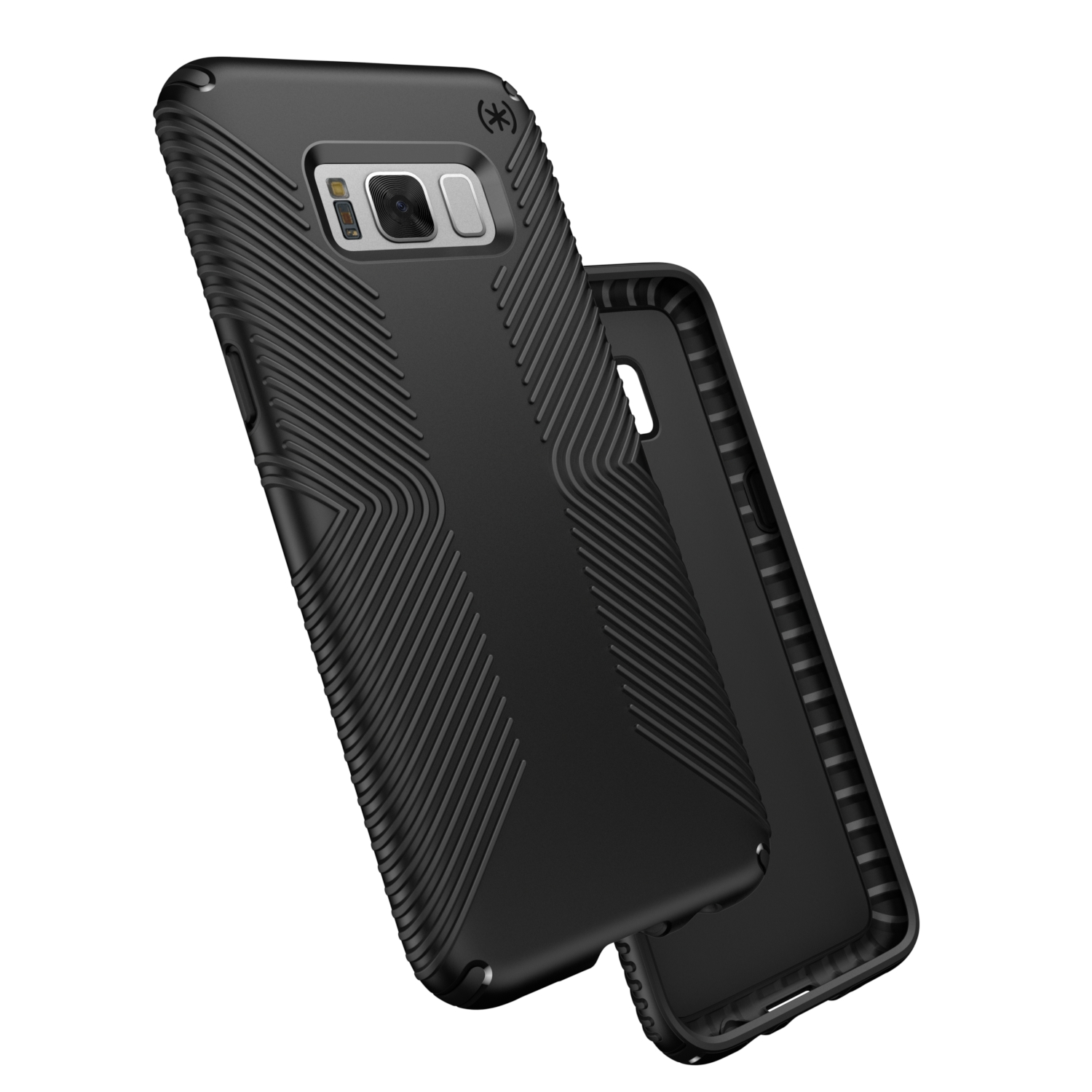 Search and compare best prices of Speck Presidio Grip Samsung Galaxy S8 Plus Cases Black/Black in UK