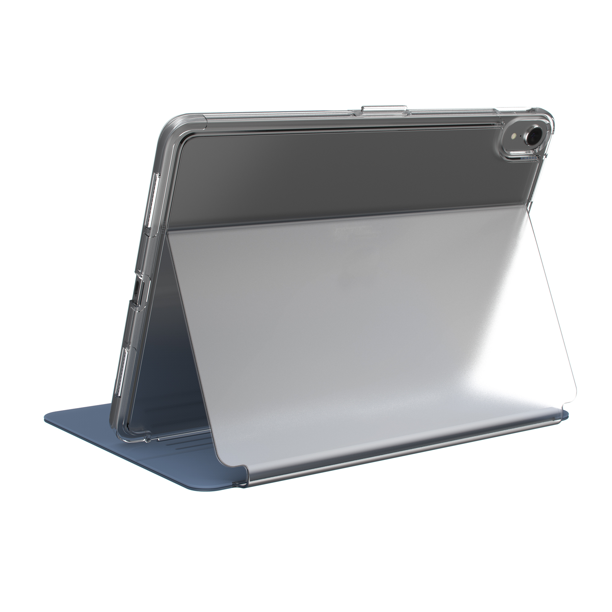 Compare prices for Balance FOLIO CLEAR 11-inch iPad Pro Cases Clear/Marine Blue