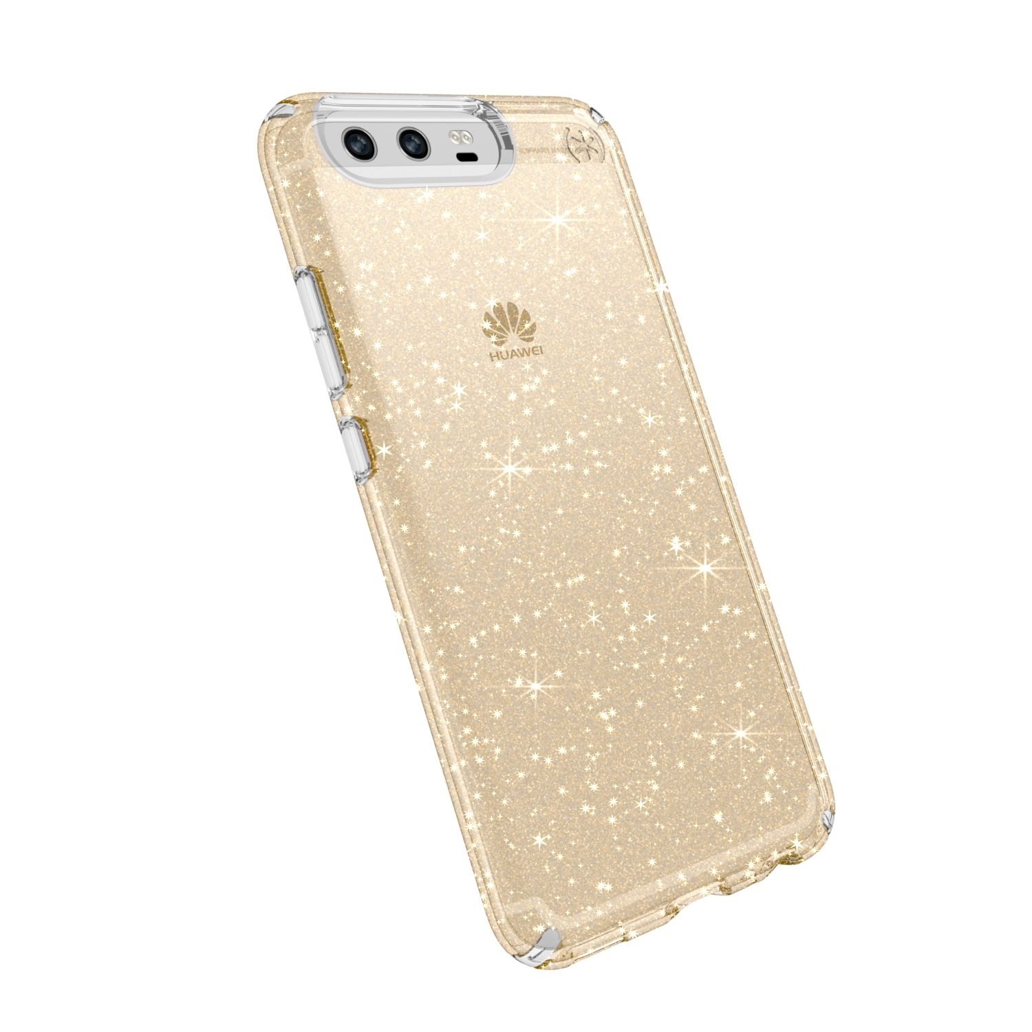 Search and compare best prices of Speck Presidio Clear with Glitter Huawei P10 Cases Clear/Gold Glitter in UK