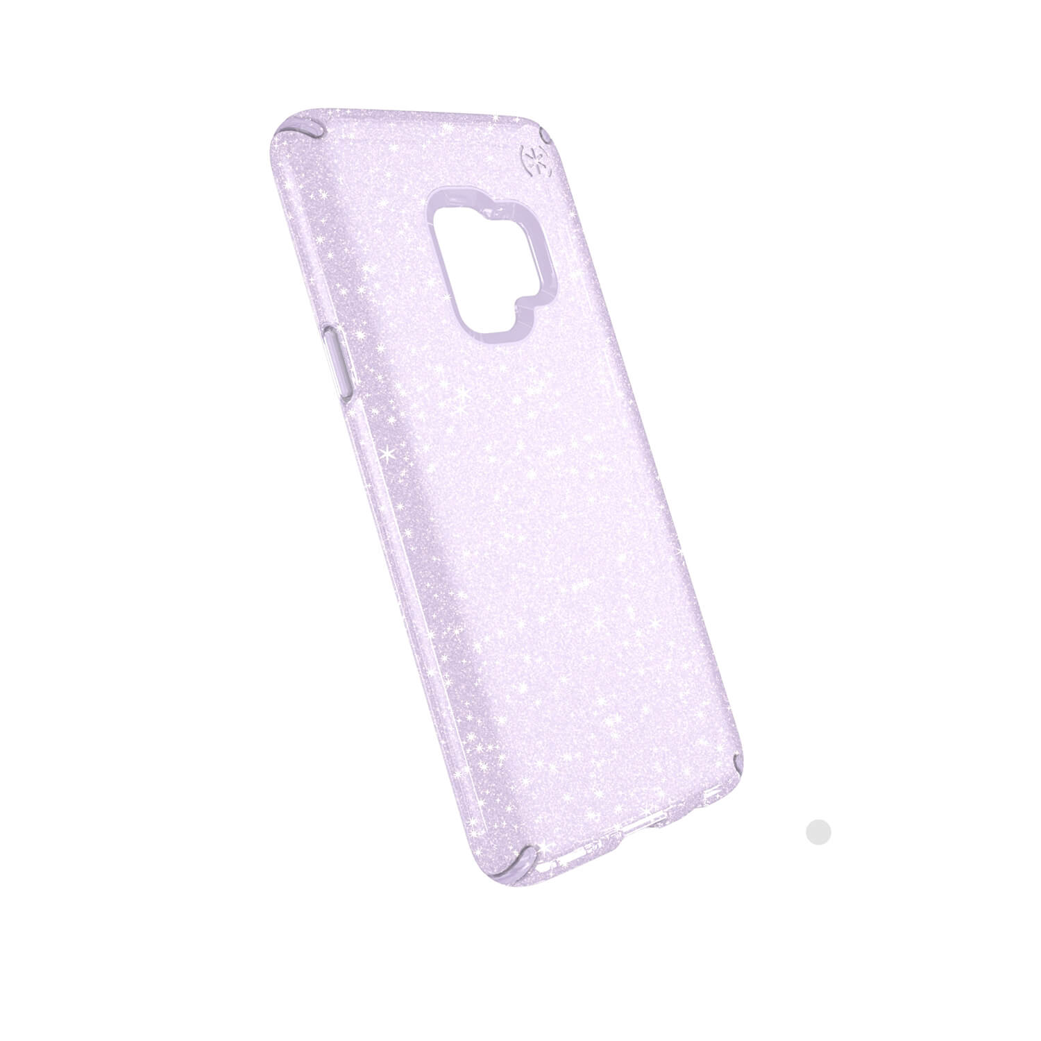 Compare retail prices of Presidio Clear + Gitter Samsung Galaxy S9 Cases Geode Purple with Gold Glitter to get the best deal online