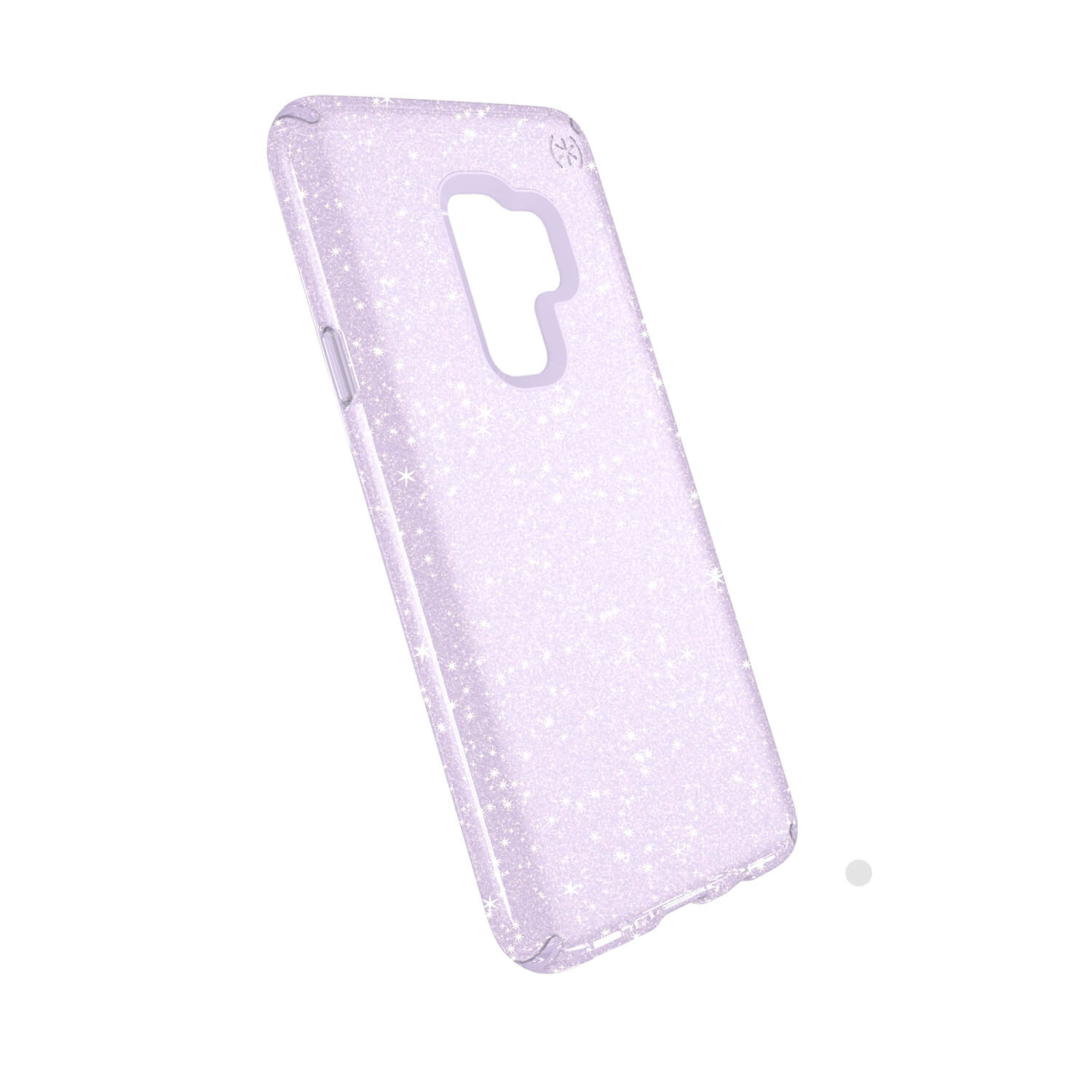 Compare retail prices of Presidio Clear + Glitter Samsung Galaxy S9 Plus Cases Geode Purple with Gold Glitter to get the best deal online