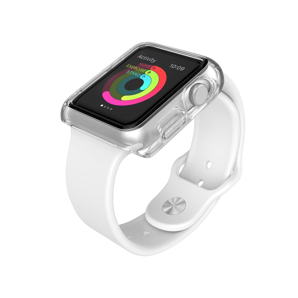Speck CandyShell Fit Clear Apple Watch Series 1 42 mm Cases Clear cheapest retail price