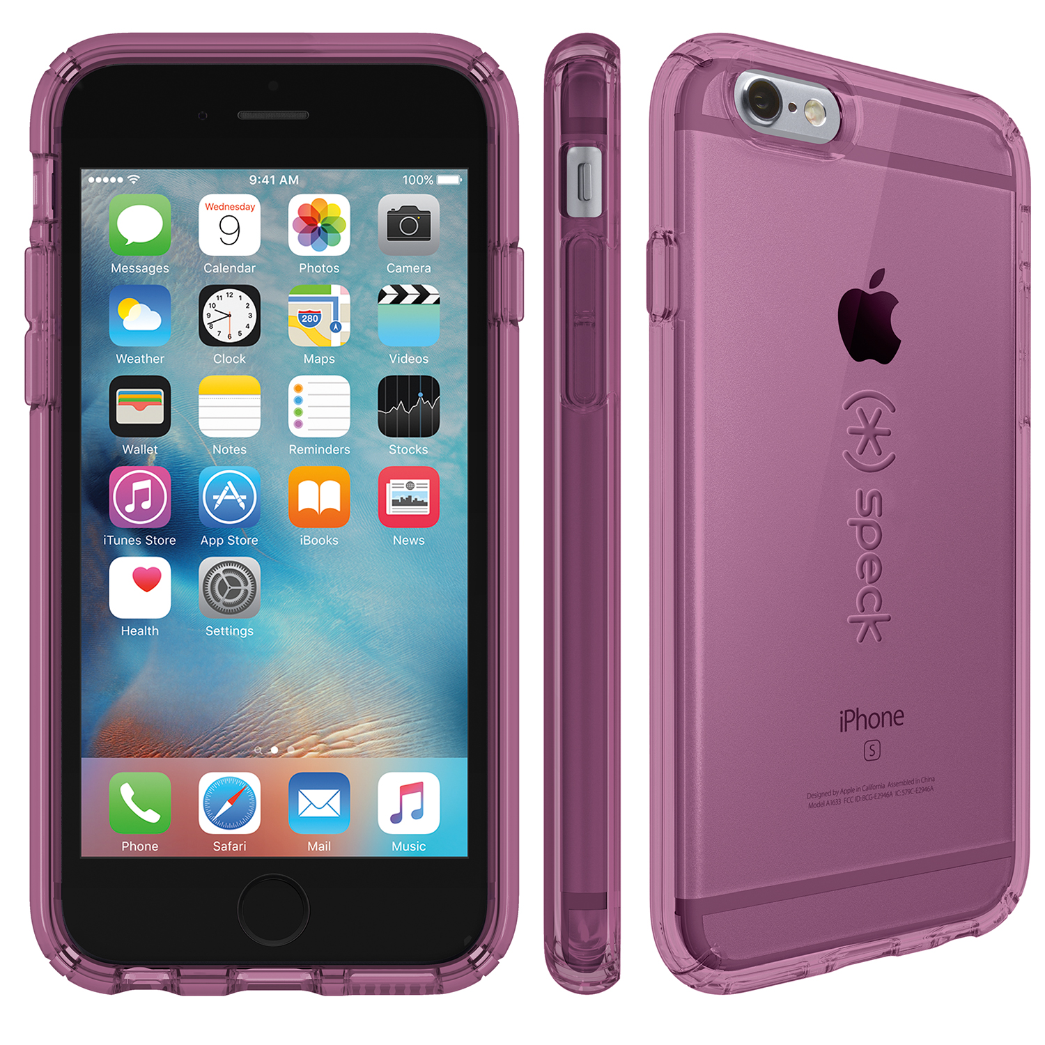 Compare prices for Speck CandyShell Clear iPhone 6s Plus and iPhone 6 Plus Cases Beaming Orchid Purple